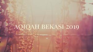 akikah bekasi 2019